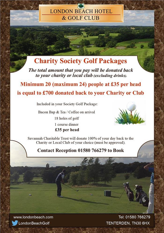 Charity Golf Society Deal