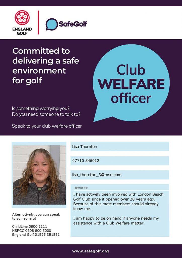 Welfare Officer